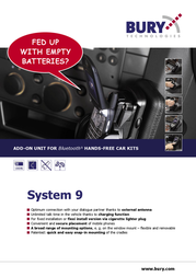 Bury activeCradle for Nokia Cradle for 6151 , 6233 , 6234 0-02-37-0010-0 Leaflet