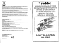 Robbe ROXXY BL-Control 950-6 1-8632 Data Sheet