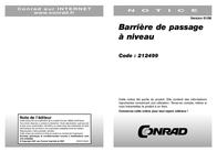 """Viessmann 5100A H0 H0 kit """"Narrow railroad crossing"""" 5100A Data Sheet"""