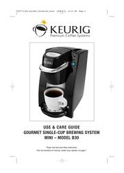 Keurig Mini-Brewers User Manual
