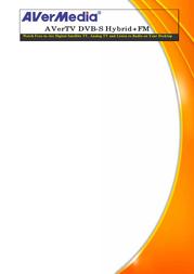 AVerMedia AVerTV DVB-S Hybrid+FM  A700 A700 HYBRID Leaflet
