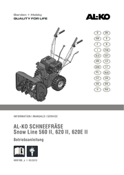AL-KO Snow Line 620 II User Manual