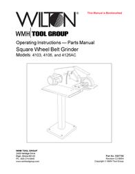 Wilton 4106 User Manual