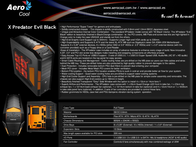 Aerocool XPredator Evil EN56472 Leaflet