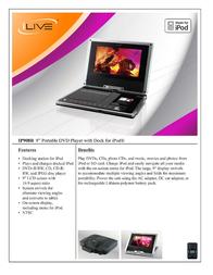 iLive IP908B Leaflet