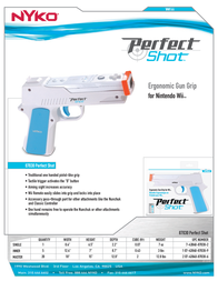 Nyko Perfect Shot 87030 Leaflet