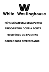 White Westinghouse WD238B User Manual