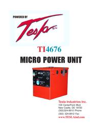 Tesla TI4676 User Manual