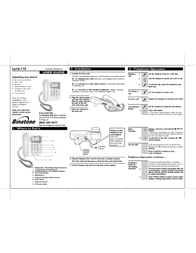 Binatone LYRIS 110 Leaflet
