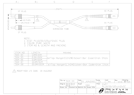 Sandberg Network Cable Optic SC/ST 1 m 504-34 Leaflet