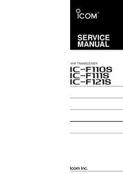 ICOM iF111S User Manual