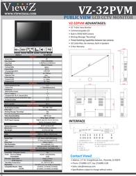 ViewZ VZ-32PVM Leaflet