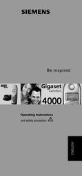 Gigaset 4000 Comfort 4000COM User Manual