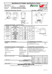 Wuerth Elektronik Würth Elektronik 7498010210A, Pin RJ45 Socket, vertical vertical Nickel-coated, Metal 7498010210A Data Sheet