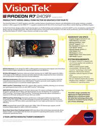 VisionTek 900701 Leaflet