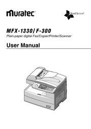 Muratec MFX-1330 User Manual