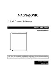 Magnasonic MF7018-3 User Manual