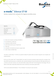 Baaske Medical Silence ST-M 2010186 Data Sheet