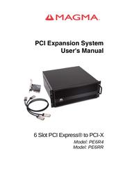 Magma PCI Expansion System PE6R4 User Manual