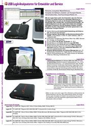 Meilhaus Electronic Logian-32 Logic-Analyzer, Logic analyzer Logian-32 Data Sheet