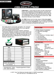 Inter-Tech IT-7750SG 88882003 Leaflet