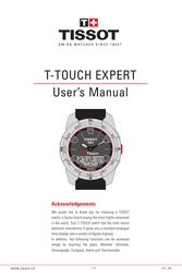 Tissot through 141_EN14/14 User Manual