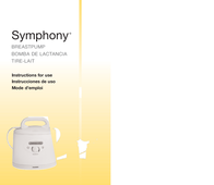 Medela BREASTPUMP Symphony User Manual