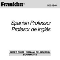 Franklin Water System BES-1840 Manuel D'Utilisation