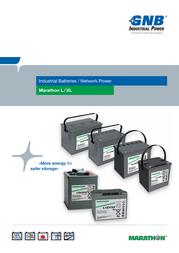 Gnb Marathon XL12V70, 12V Ah lead acid battery NAXL120070HM0FA NAXL120070HM0FA Data Sheet