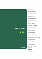 Hanns.G Flat Panel Television HG281 User Manual