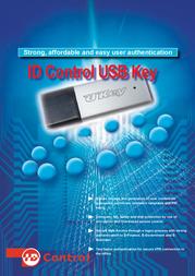 ID Control USB Token with 1 GB Flash Memory 401020 User Manual