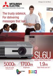 Mitsubishi Electric SL6U 3LCD SL6U Leaflet