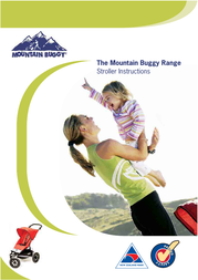 Mountain Buggy Buggy Range Outside Cover User Manual