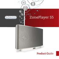 Sonos ZonePlayer S5 User Manual