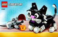 Lego Creator 31021 KATZE UND MAUS 31021 User Manual