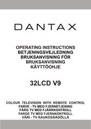 Dantax 32LCD V9 User Manual