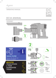 Dyson DC34 User Manual