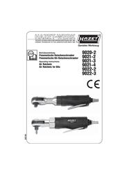 Hazet Ratchet wrench 9020-2 9020-2 Data Sheet