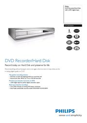 Printek DVDR560H Leaflet