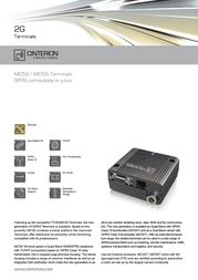 Cinterion MC52iT MC52I-T Leaflet