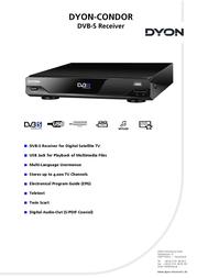 Dyon Condor D840003 User Manual