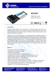 Sunix ECU2300 User Manual