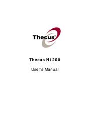 Thecus All-Purpose Storage Server N1200BR Leaflet