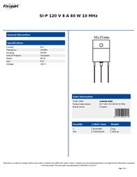 Fixapart 2SB688-MBR Leaflet