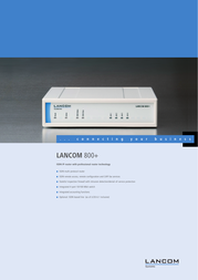 Lancom Systems 800+ LS61127 User Manual