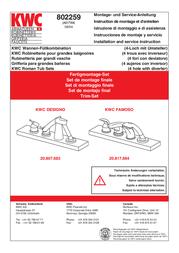 KWC 802259 User Manual