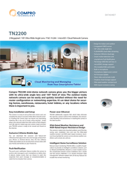 Compro TN2200 Data Sheet