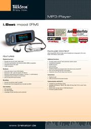 Trekstor 1GB i.Beat mood FM 71710 Leaflet