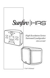 Sunfire HRS-SAT4BIP User Manual