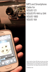 Volvo MP3 Player Accessories 164 User Manual